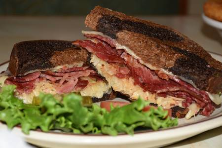 Reuben Sandwich from Golden Basket Restaurant in Green Bay, WI