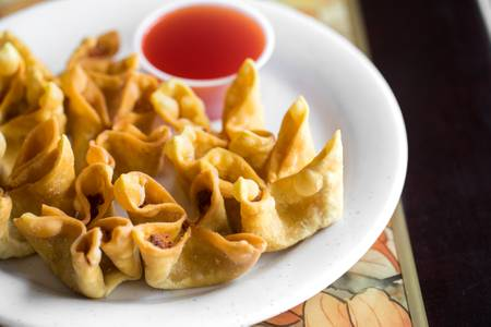 15. Fried Crab Rangoon (8) from Good Taste Chinese Restaurant in Richmond, VA