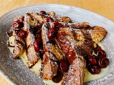 Croissant Bread French Toast from Graze in Madison, WI