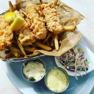 Friday Fish Fry from Graze in Madison, WI