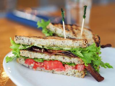 Heirloom BLT from Graze in Madison, WI