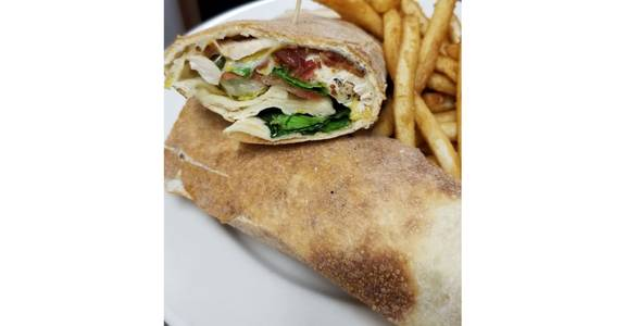 BLT Chicken Wrap from Grazies Italian Grill in Stevens Point, WI
