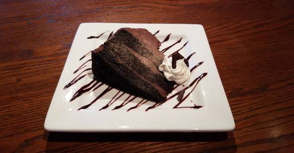 Chocolate Overload Cake from Grazies Italian Grill in Stevens Point, WI