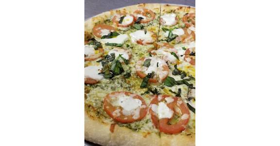 Margarita 'Za from Grazies Italian Grill in Stevens Point, WI
