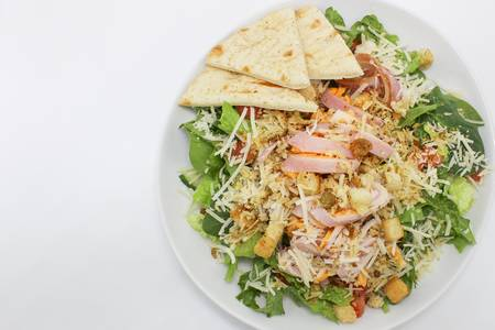 Chef Salad from Grounded Cafe in Green Bay, WI