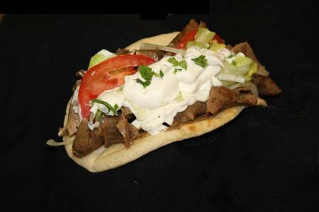 The Big Gyro from Gyro Kabobs in De Pere, WI
