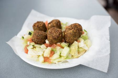 Falafel Sandwich from Gyro Palace - Walker's Point in Milwaukee, WI
