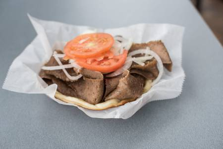 Gyro Sandwich from Gyro Palace - Walker's Point in Milwaukee, WI