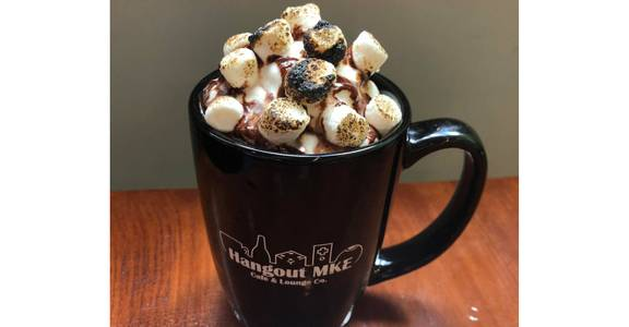 Campfire Mocha from Hangout MKE in Milwaukee, WI