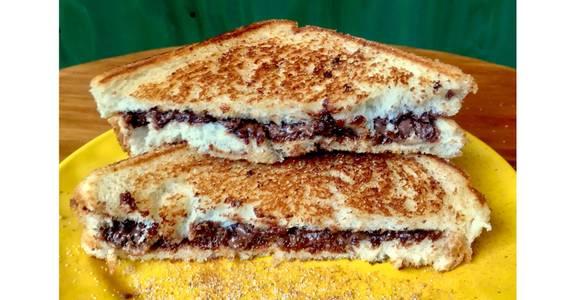 Heavenly Hazelnut Sandwich from Hangout MKE in Milwaukee, WI