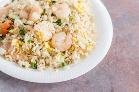 F6. Shrimp Fried Rice from Happy Wok - 2409 W Broadway, Monona in Monona, WI