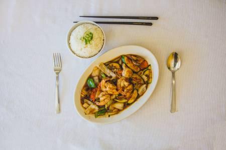 10. Stir Fry from Hmong's Golden Egg Roll in La Crosse, WI