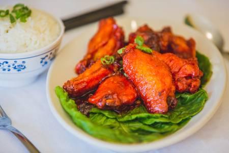 5. Sweet Chicken Wings (8) from Hmong's Golden Egg Roll in La Crosse, WI
