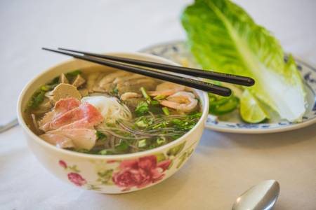 6. Regular Noodle Soup from Hmong's Golden Egg Roll in La Crosse, WI