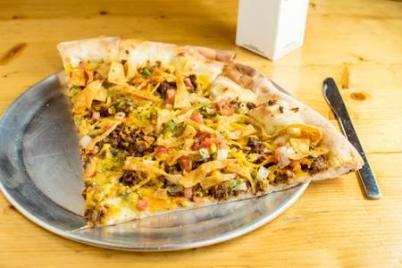 Macho Nacho from Ian's Pizza - Downtown in Milwaukee, WI