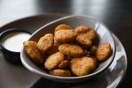 Fried Pickles from Iron Rail Brewing in Topeka, KS