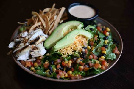 Southwest Chicken Salad (GF) from Iron Rail Brewing in Topeka, KS