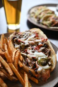 Top City Cheese Steak from Iron Rail Brewing in Topeka, KS