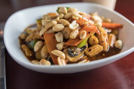 Kung Pao Chicken from Jade Dragon Restaurant in Oshkosh, WI