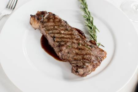 Certified Angus Beef New York Strip (12 oz.) from Johnny Delmonico's Steakhouse in Madison, WI