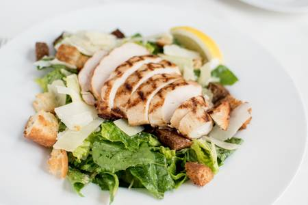 Caesar Salad from Johnny Delmonico's Steakhouse in Madison, WI