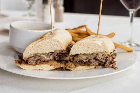 French Dip from Johnny Delmonico's Steakhouse in Madison, WI