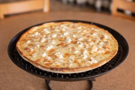 4 Cheese Chicken Alfredo Pizza from Josephine's Pizza & Pastaria in Green Bay, WI