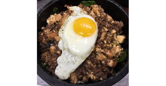 Everything Bibimbap from K Peppers in Middleton, WI