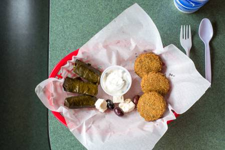 Appetizer Sampler from Kentro Gyros in Green Bay, WI