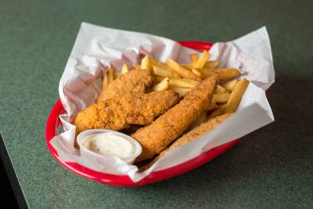 Chicken Tenders and Fries from Kentro Gyros in Green Bay, WI