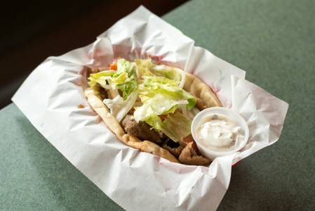 The Big Gyro from Kentro Gyros in Green Bay, WI