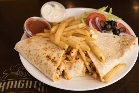 Grilled Chicken Quesadillas from Knights Express Pizza & Grill in New Brunswick, NJ