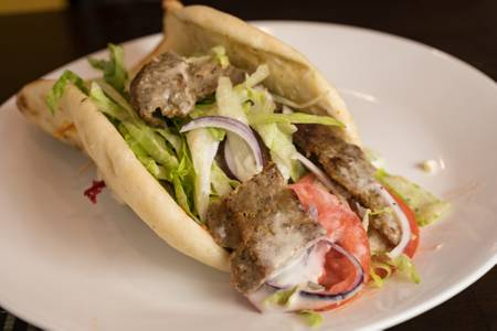 Lamb Gyro from Knights Express Pizza & Grill in New Brunswick, NJ