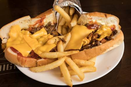Philly Cheese Steak from Knights Express Pizza & Grill in New Brunswick, NJ