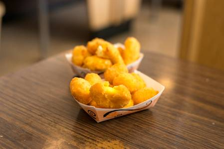 Cheese Curds from Kroll's East in Green Bay, WI