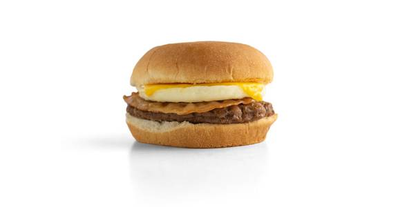 Breakfast Burger from Kwik Trip - Eau Claire Water St in Eau Claire, WI