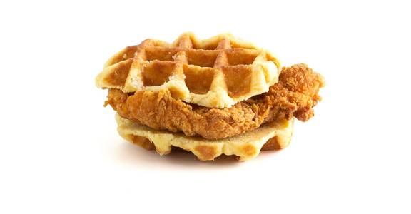 Chicken & Waffle Sandwich from Kwik Trip - Suamico in Suamico, WI