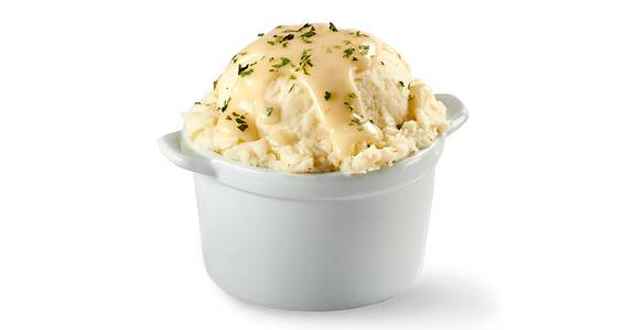 Mashed Potatoes & Gravy, 6.5 oz. from Kwik Star - Dubuque Dodge St in Dubuque, IA