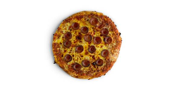 Regular Crust Pizza: Pepperoni from Kwik Star - Waterloo Cedar Bend St in Waterloo, IA