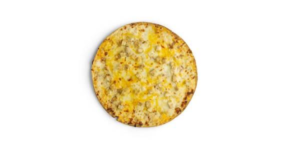 Thin Crust Pizza: Chicken Alfredo from Kwik Star - Waterloo Cedar Bend St in Waterloo, IA