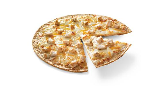 Thin Crust Pizza: Chicken Alfredo from Kwik Star - Dubuque Dodge St in Dubuque, IA