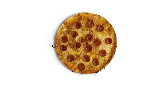 Thin Crust Pizza: Pepperoni from Kwik Star - Waterloo Cedar Bend St in Waterloo, IA