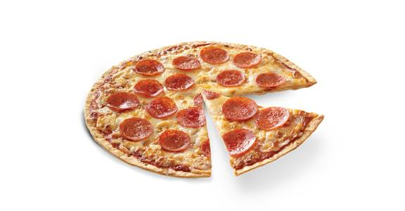 Thin Crust Pizza: Pepperoni from Kwik Trip - Kenosha 120th Ave in Pleasant Prairie, WI