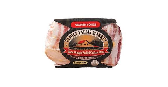 Family Farms Market Bacon Wrapped Chicken Breasts from Kwik Trip - Oshkosh Jackson St in Oshkosh, WI