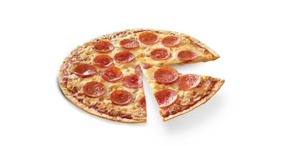 Thin Crust Pizza: Pepperoni from Kwik Trip - La Crosse Mormon Coulee Rd in La Crosse, WI