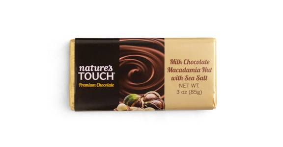 FREE Nature's Touch Milk Chocolate Macadamia Nut with Sea Salt XL from Kwik Trip - Eau Claire Water St in Eau Claire, WI