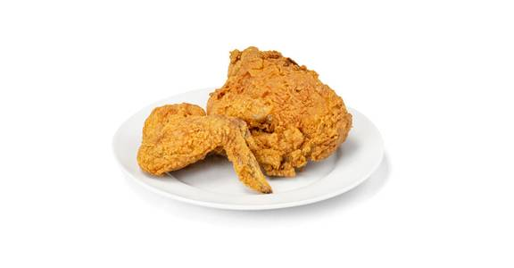 2 Piece Fried Chicken, White Meat from Kwik Star - Waterloo Broadway St in Waterloo, IA