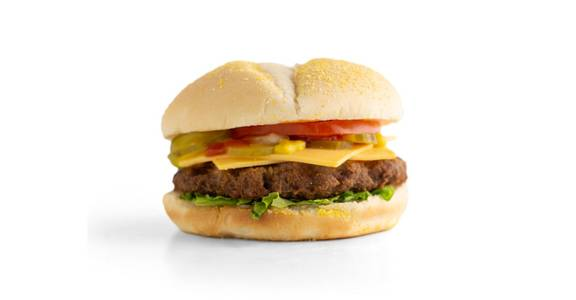 Cheeseburgers: Angus Cheeseburger from Kwik Star - Waterloo Broadway St in Waterloo, IA