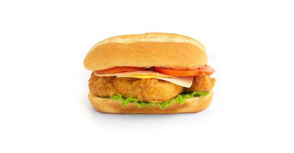 Chicken Sandwich: Chicken Tender Melt Sandwich from Kwik Trip - Eau Claire Water St in Eau Claire, WI