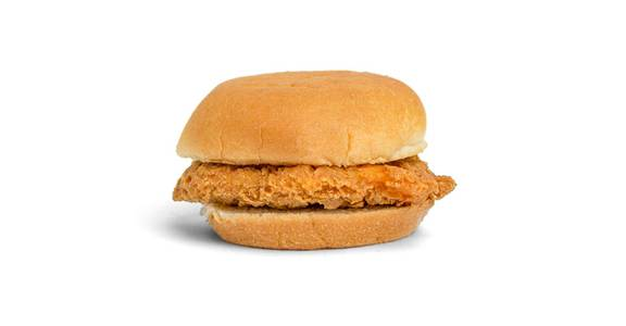 Chicken Sandwich: Crispy Chicken Sandwich from Kwik Trip - Eau Claire Water St in Eau Claire, WI